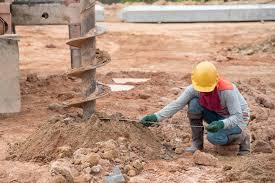 Une étude de sol avant de construire une maison ?